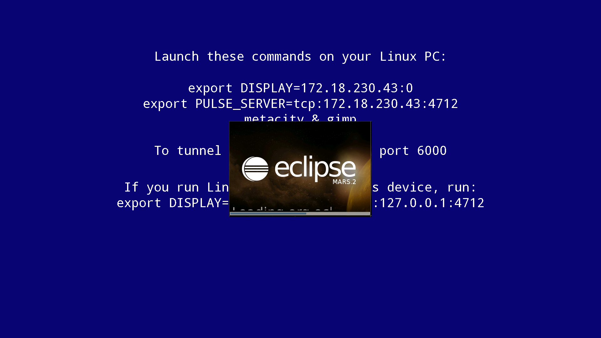 OpenStack openning eclipseIDE by XServer 01.png